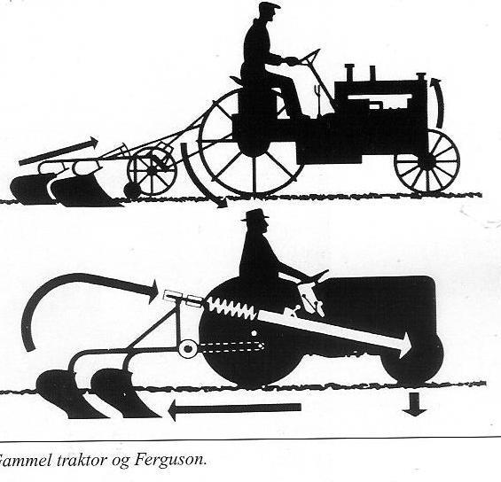 Ferguson traktor historie